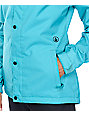 Volcom Bolt In Teal Jacket