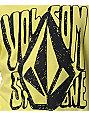 Volcom Boys Hand Drawn Yellow T-Shirt