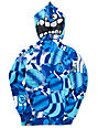 Volcom Boys Maguro Circle Blue Face Mask Hoodie