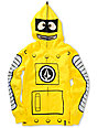 Volcom Boys Yo Gabba Gabba Plex Yellow Face Mask Hoodie