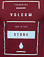 Volcom Chisel Heather Red T-Shirt