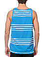 Volcom Circle Square Blue Tank Top