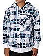 Volcom Collage White Sherpa Hoodie