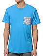 Volcom Inverted Strange Blue Pocket T-Shirt