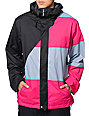 Volcom Johnny Black & Pink 10K Snowboard Jacket