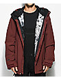 Volcom L Burnt Red Gore-Tex Snowboard Jacket