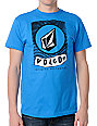 Volcom Label Blue T-Shirt