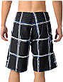 Volcom Maguro Black & White Stripe 21.5 Board Shorts
