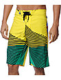 Volcom Maguro Fun Yellow 22 Board Shorts