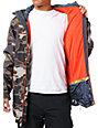 Volcom Mens Construct Camo Snowboard Jacket