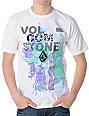 Volcom No Cyan White T-Shirt