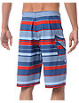 Volcom Pockito Blue & Red 22 Board Shorts