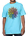 Volcom Raying Aqua Blue T-Shirt