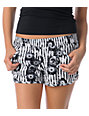 Volcom Rev Up 2.5 Striped & Floral Shorts