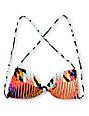 Volcom Southern Summer Stripe Bandeau Bikini Top