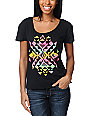 Volcom Spark Dance Ruling Black T-Shirt