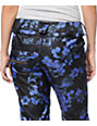 Volcom Species Black Floral Print 15K Snowboard Pants
