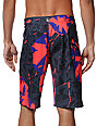Volcom V6S Tornlosky Pink 21 Board Shorts