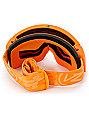 Von Zipper Feenom Tangerine Satin & Fire Chrome Goggle