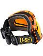 Von Zipper Feenom Tangerine Trans Fire Goggle