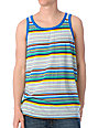 WeSC Drayton Blue Stripe Tank Top