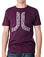 WeSC Logos In Icon Purple T-Shirt