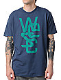 WeSC Overlay Dark Blue T-Shirt