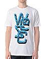 WeSC Overlay Human Disorder White T-Shirt