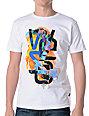 WeSC Watercolor White T-Shirt