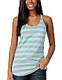 Zine Aruba Blue & Grey Tank Top