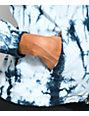 Zine Nina Blue & White Tie Dye Full Zip Jacket
