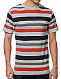 Zine Slightly Sick Black Stripe T-Shirt