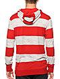 Zine Space Cadet Stripe Hooded Henley Shirt