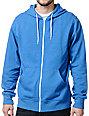Zine Template Solid Bro Blue Hoodie