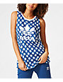 adidas Loose Trefoil Blue Tank Top