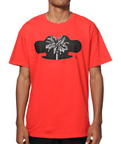 10 Deep Black Palm T-Shirt