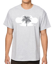 10 Deep Black Palm Tee Shirt