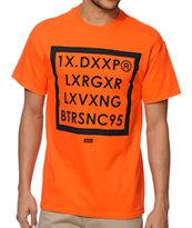 10 Deep Boxed Out Orange T-Shirt