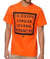 10 Deep Boxed Out Orange Tee Shirt