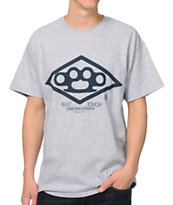 10 Deep Built Tough Grey Tee Shirt
