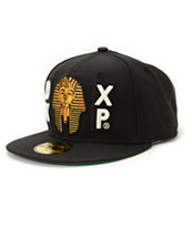 10 Deep HNIC Black New Era Fitted Hat