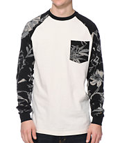 10 Deep Hambino White Long Sleeve Pocket Shirt