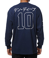 10 Deep Katakana Long Sleeve T-Shirt