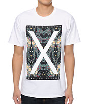 10 Deep Larger Living White T-Shirt