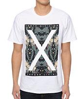 10 Deep Larger Living White T-Shirt