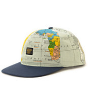 10 Deep Local Native Maps Snapback Hat
