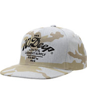10 Deep Monticello Heather Grey Snapback Hat