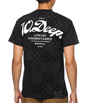 10 Deep New Standard Mixed Print T-Shirt