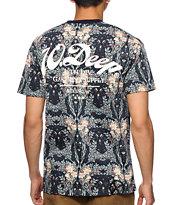 10 Deep New Standard Navy Floral T-Shirt