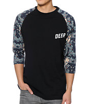 10 Deep Senshu Black Baseball Tee Shirt